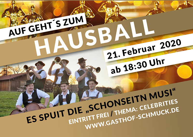 Hausball im Gasthof Schmuck